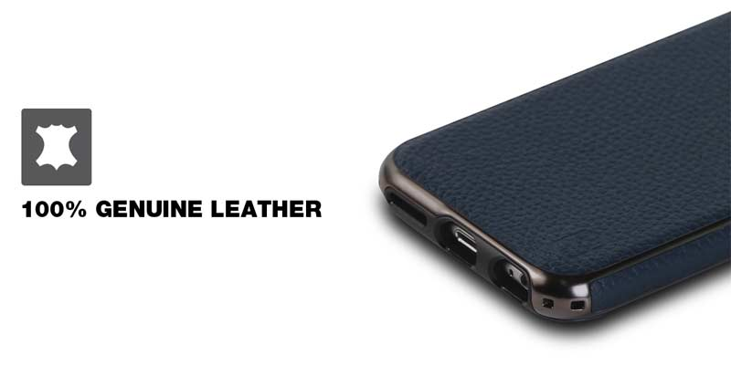 Patchworks Level Prestige Genuine Leather Case Material