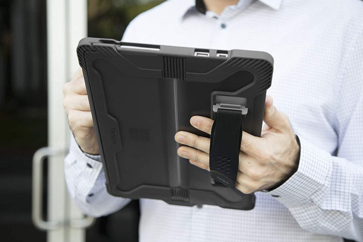 Targus tough rugged case for Surface pro with handstrap